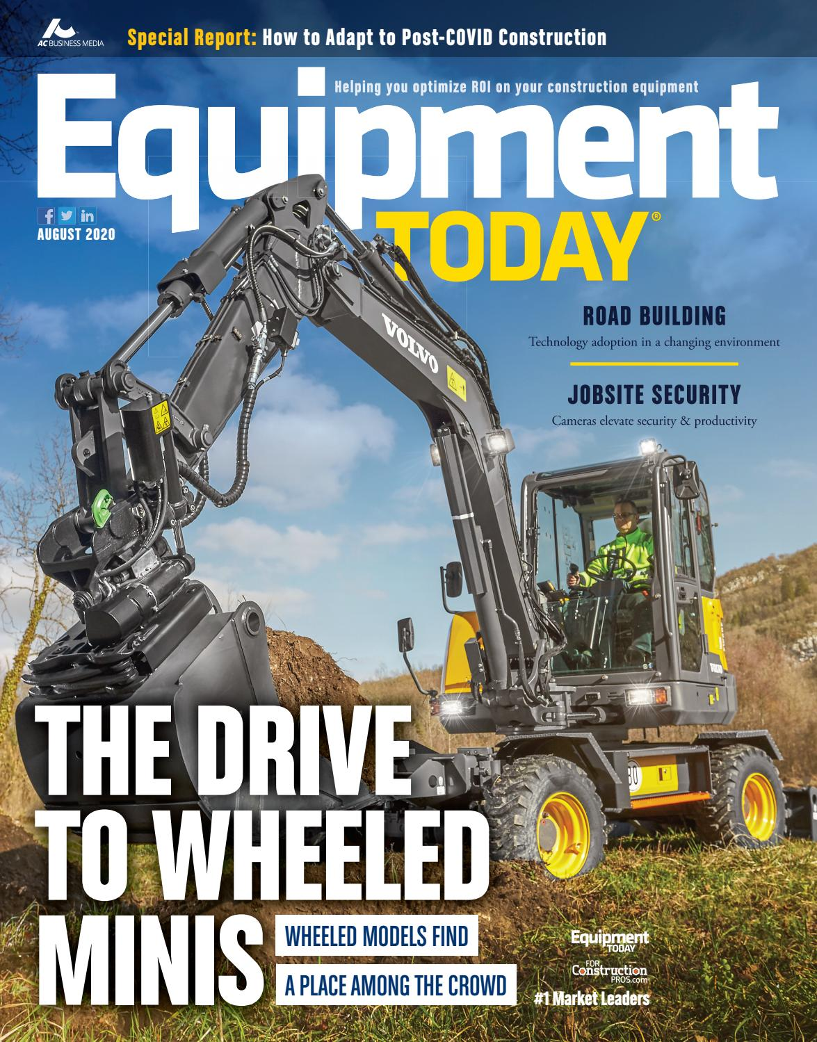 Equipment Today August 2020 By Forconstructionpros Com Issuu