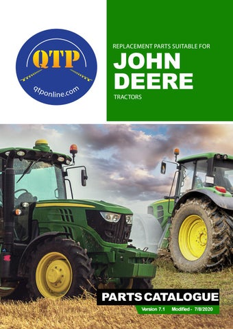 7 john deere by Quality Tractor Parts - issuuIssuu