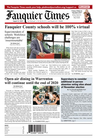 Fauquier Times 08 12 2020 By Fauquier Times Issuu