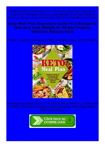 Read E Book Keto Meal Plan Beginners Guide To A Ketogenic Diet Amp Lose Weight In 30 Day By Gvtyuhijk Issuu