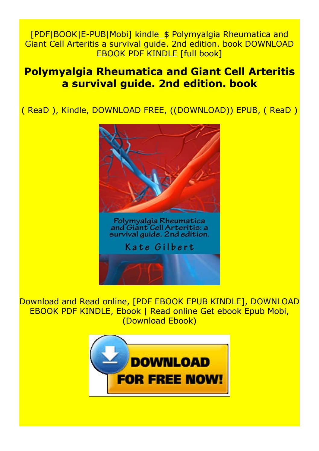 Paperback Polymyalgia Rheumatica And Giant Cell Arteritis A Survival Guide 2nd Edition Book By Gf5vrtyguhij Issuu