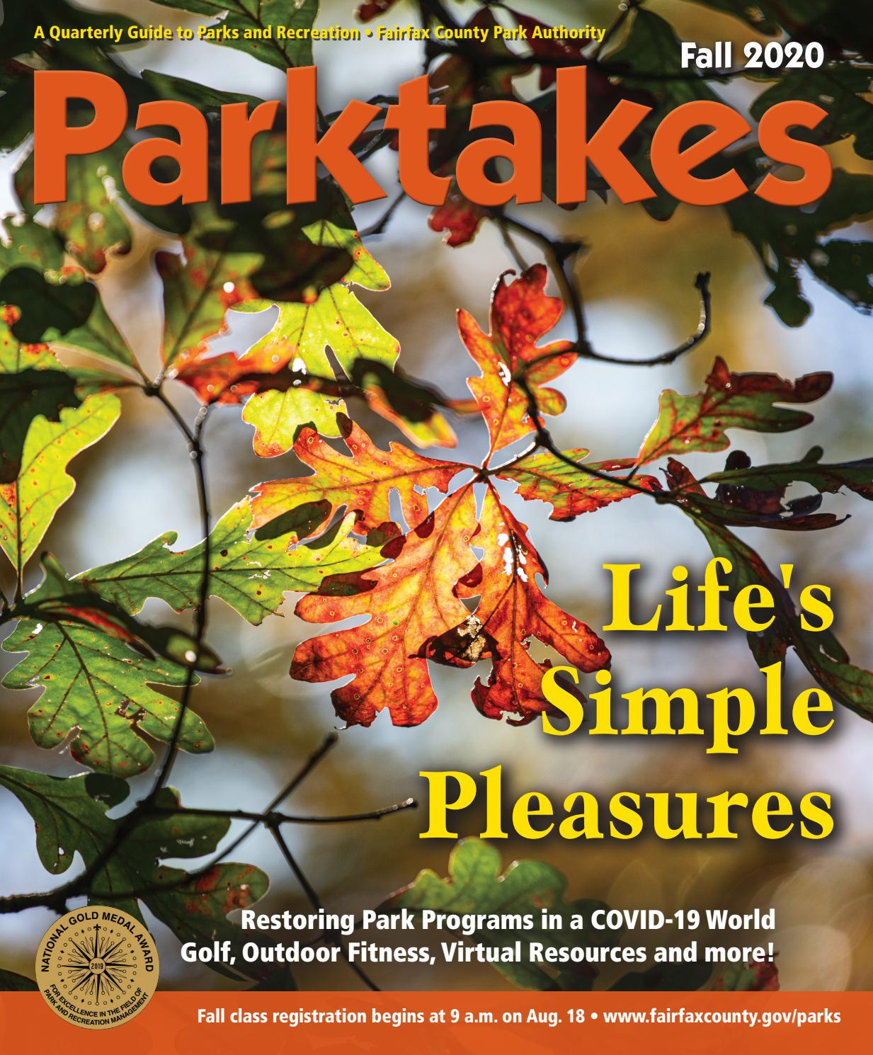 Fall Parktakes 2020 By Fairfax County Park Authority Issuu