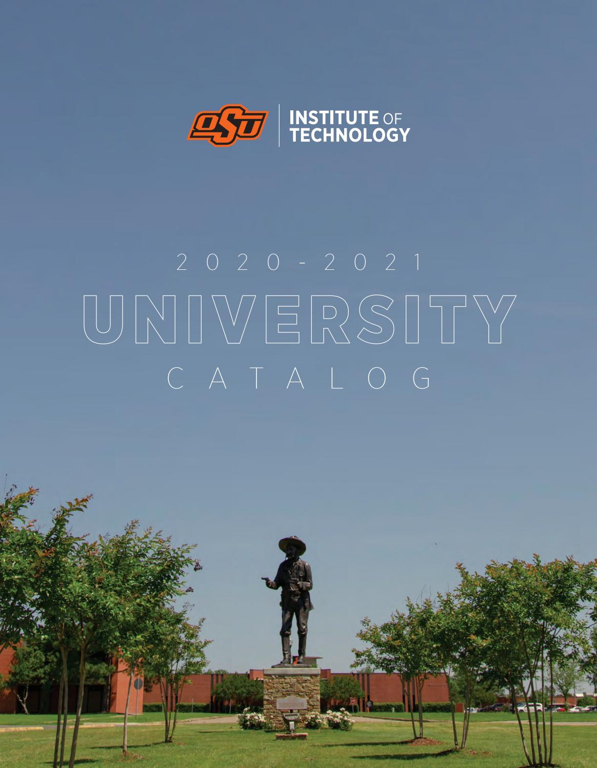 2020 2021 OSUIT Academic Calendar (Revised 8/11/2020) by Oklahoma