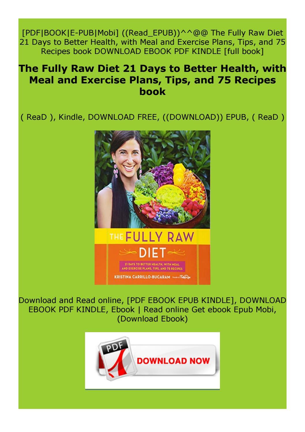 raw diet health pdf