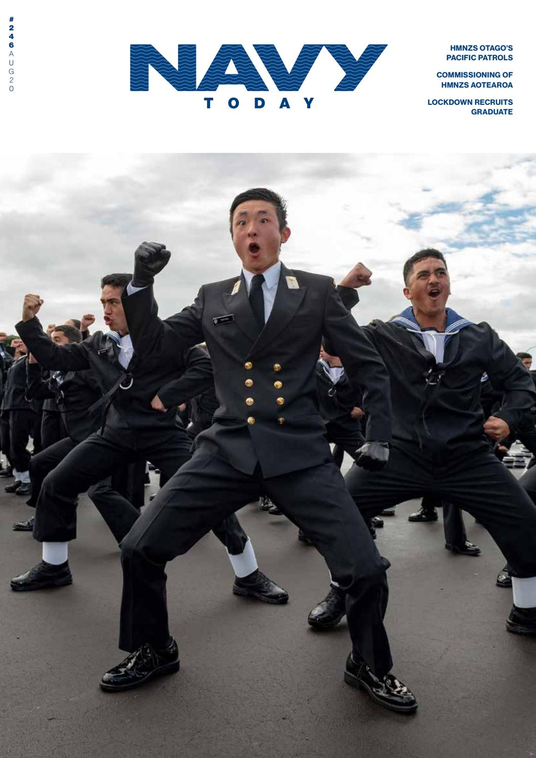 Royal New Zealand Navy   Navy Today - Issue 246, August 2020 by ...