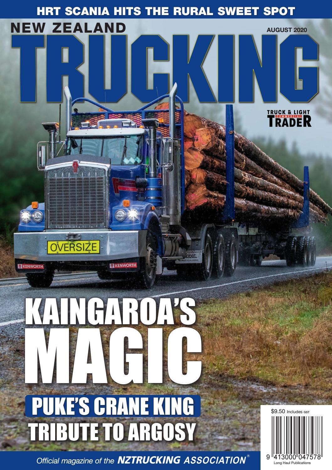New Zealand Trucking August 2020 By Nztrucking Issuu
