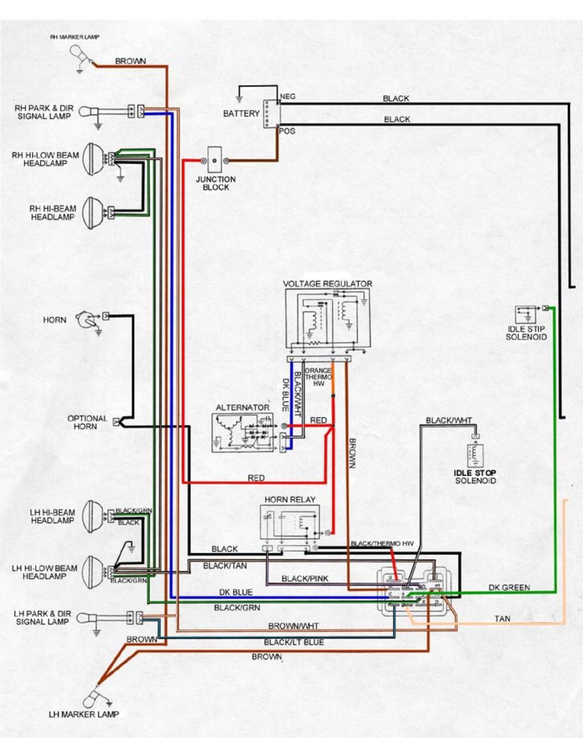 Pontiac Firebird Wiring Diagrams 67 68 69 Models by heydownloads - issuuIssuu