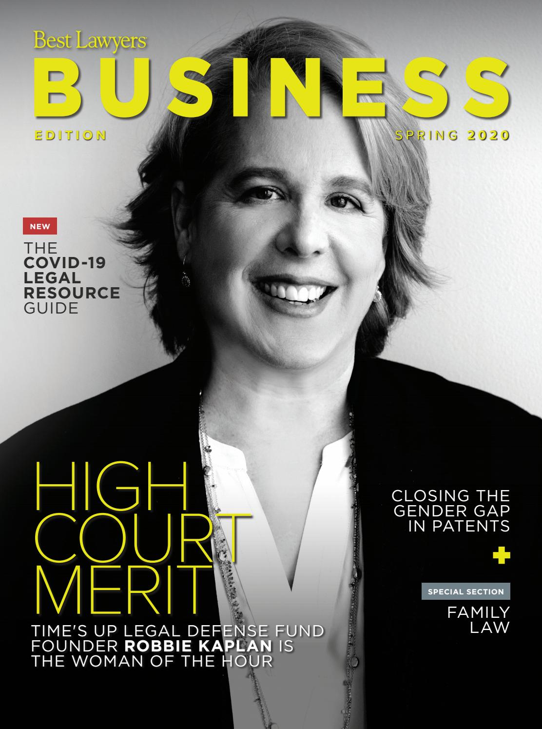 Best Lawyers Spring Business Edition 2020 By Best Lawyers Issuu