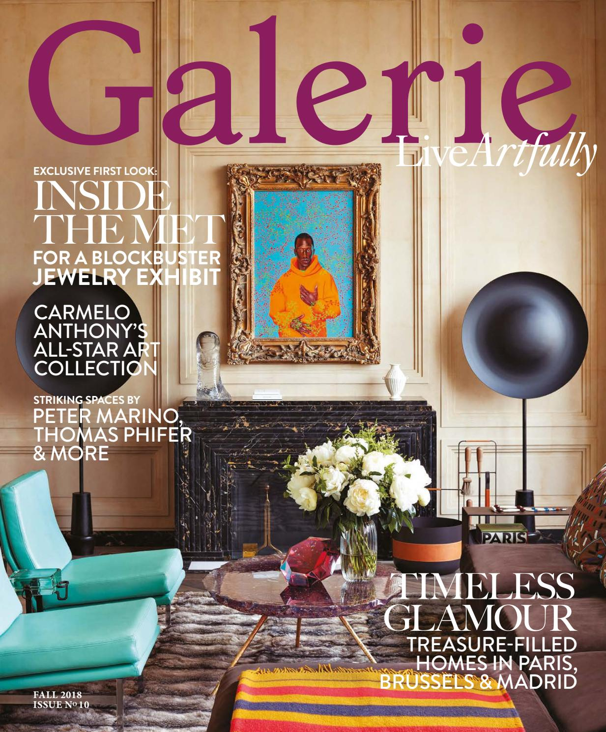 Galerie Fall 2018 By Galerie Magazine Issuu