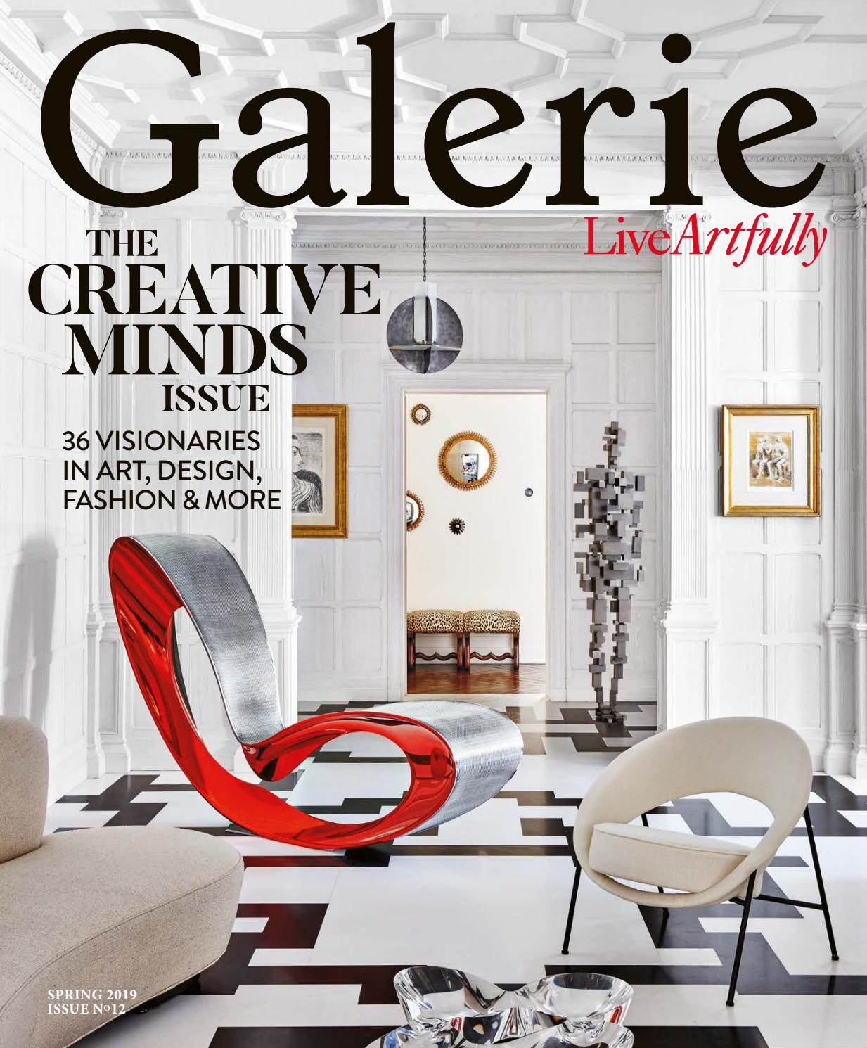 Galerie Spring 2019 By Galerie Magazine Issuu