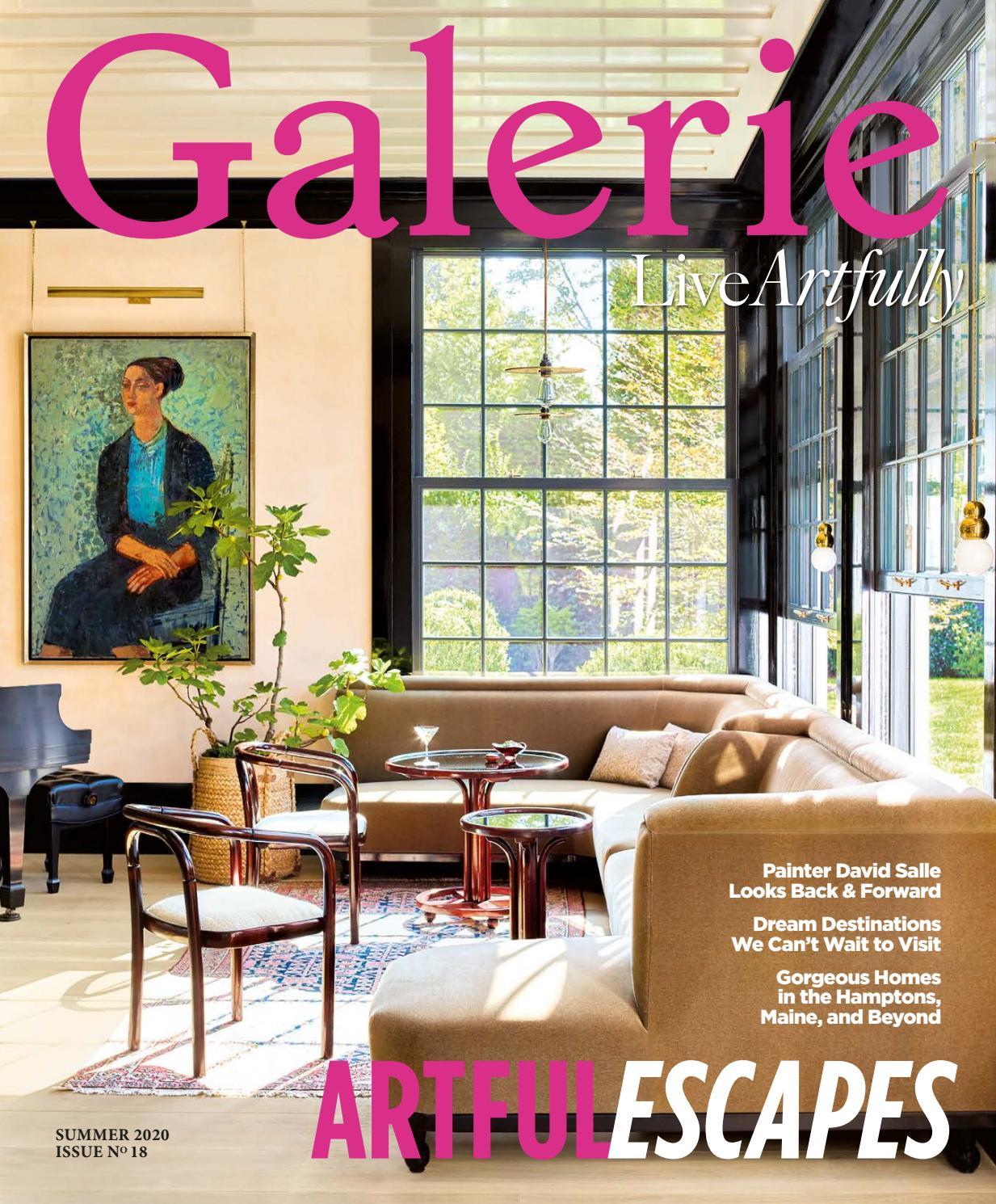 Galerie Summer 2020 By Galerie Magazine Issuu