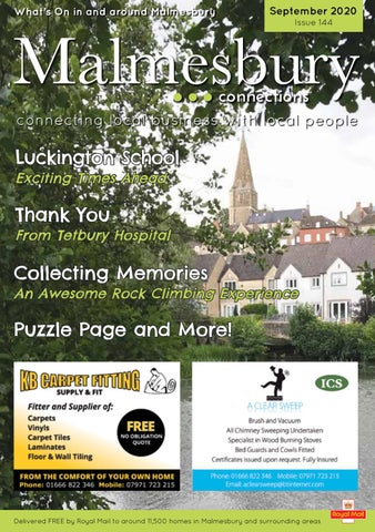 Malmesbury Connections September Issue By Renee Tuck Issuu