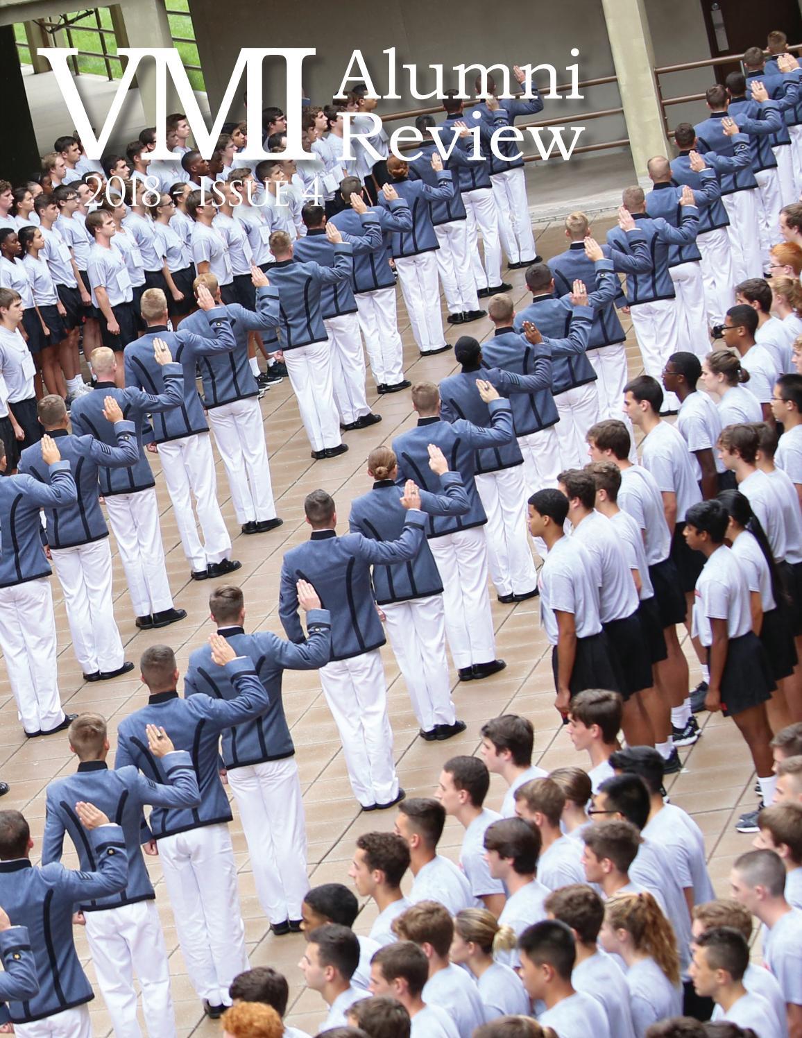 Vmi Calendar 2022.2018 Issue 4 Alumni Review By Vmi Alumni Agencies Issuu
