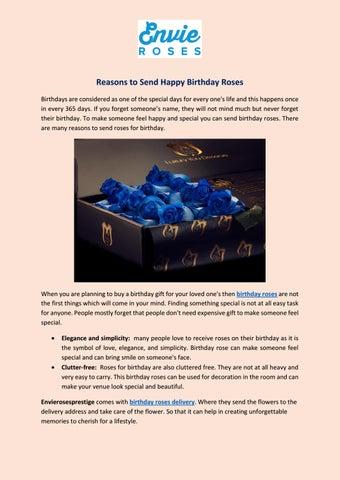 Send something for birthday