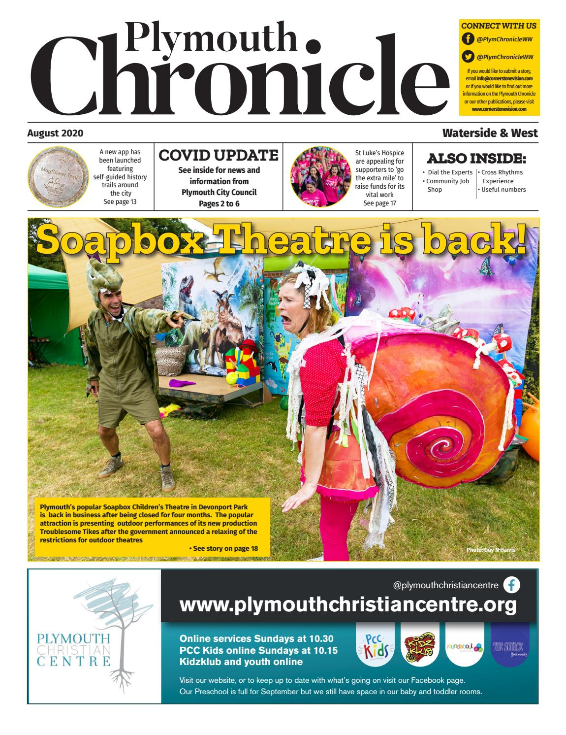 The Plymouth Chronicle Waterside West August 2020 By Cornerstone Vision Issuu