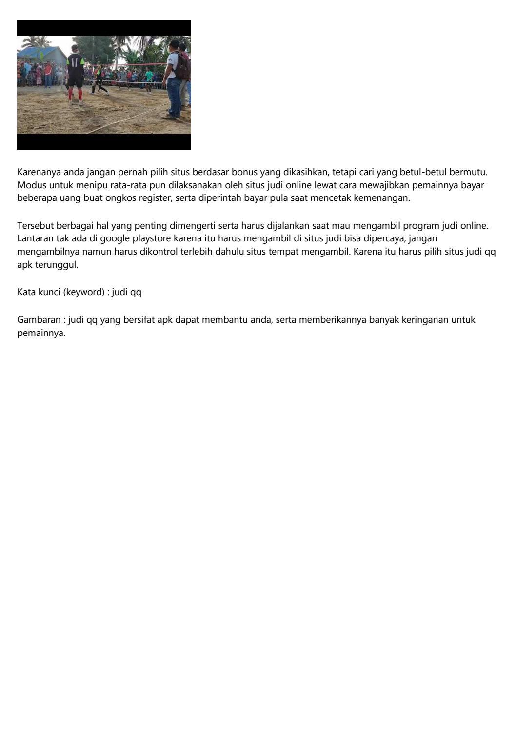 Daftar Situs Bandar Agen Judi QQ Online Terpercaya ...