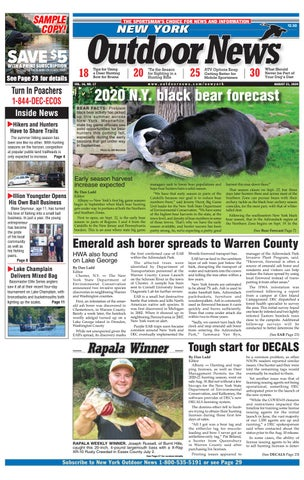 New York Outdoor News Issue 20 2020 By Outdoor News Issuu