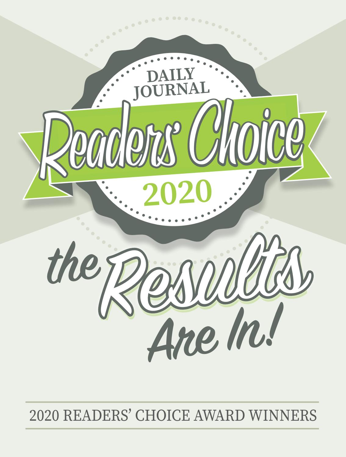 2020 reader s choice awards the daily journal by journal inc issuu 2020 reader s choice awards the daily