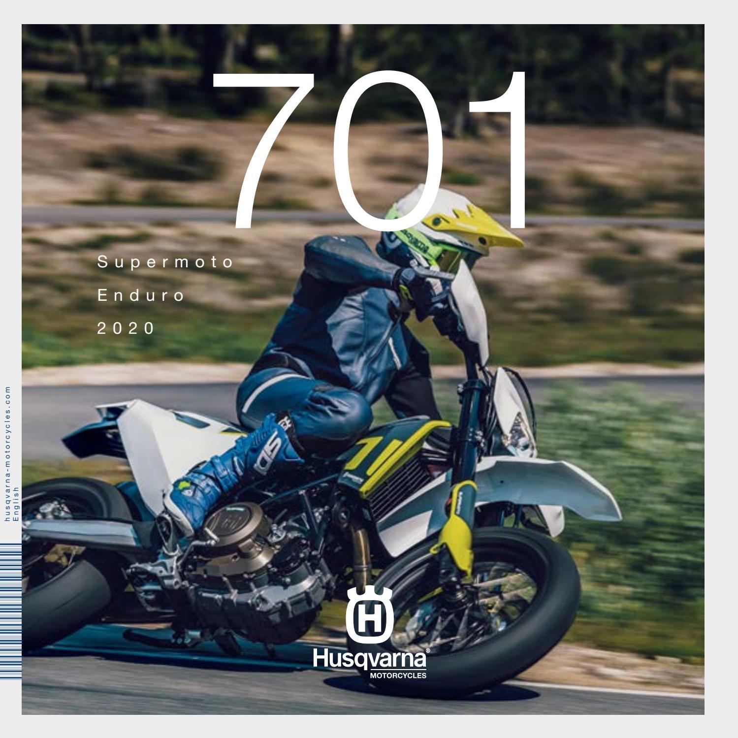 2020 Husqvarna Motorcycles 701 Supermoto Enduro Model Range Brochure Us Can By Ktm Group Issuu