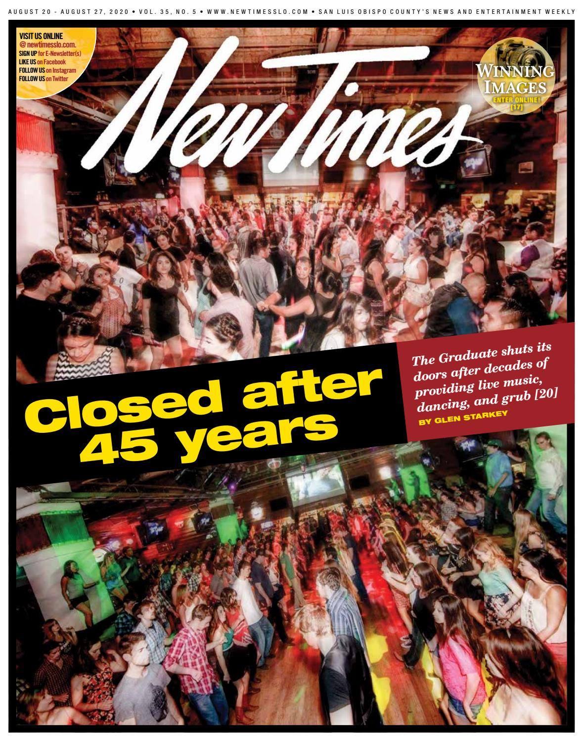 New Times Aug 20 2020 By New Times San Luis Obispo Issuu