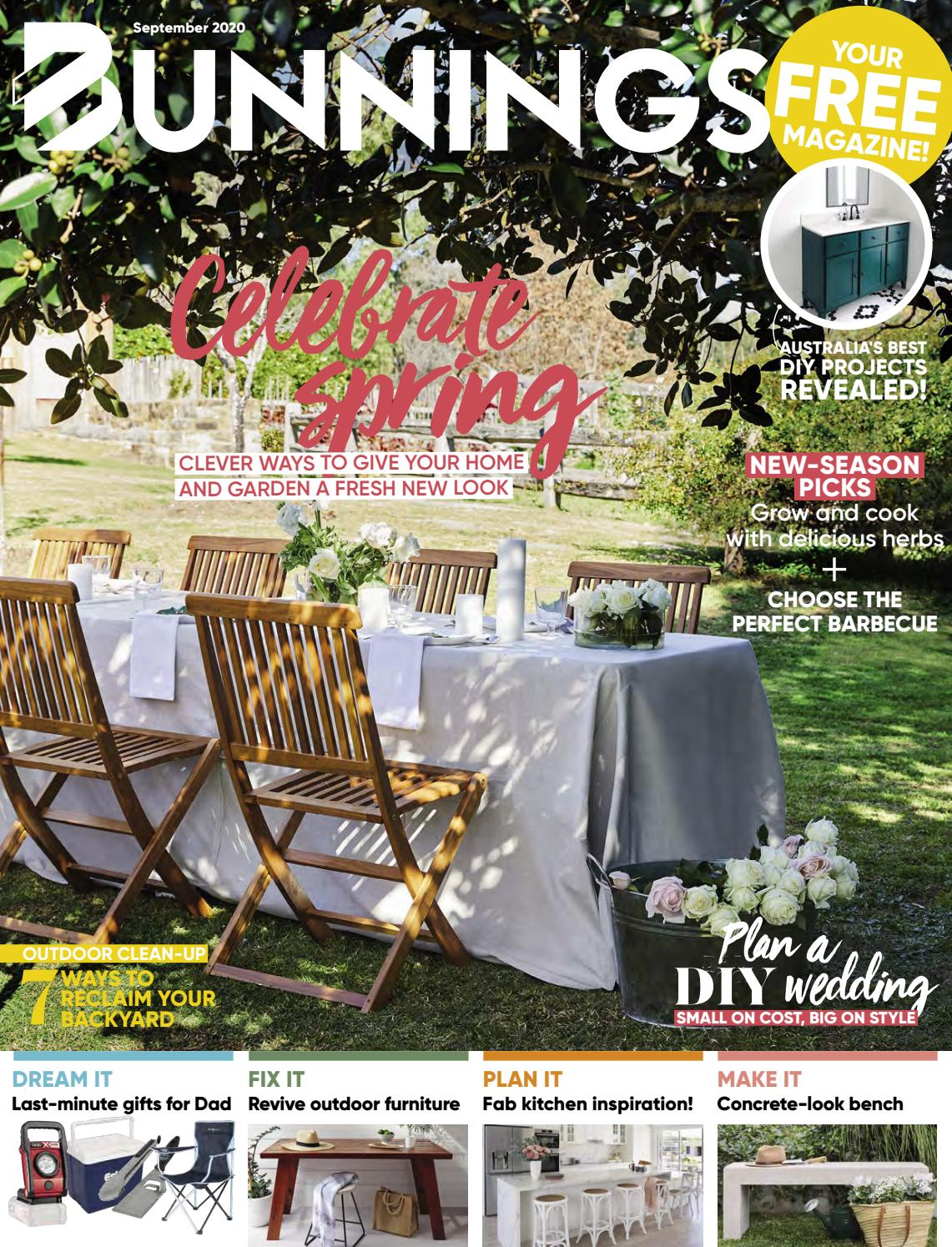 Picture of: Bunnings Magazine September 2020 By Bunnings Issuu