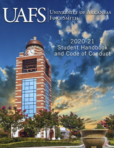 Student Handbook by University of Arkansas   Fort Smith   issuu