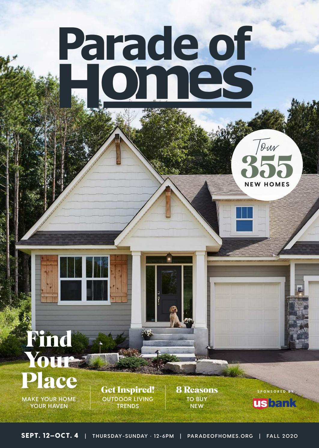 2020 Fall Parade Of Homessm Guidebook By Housing First Minnesota Issuu