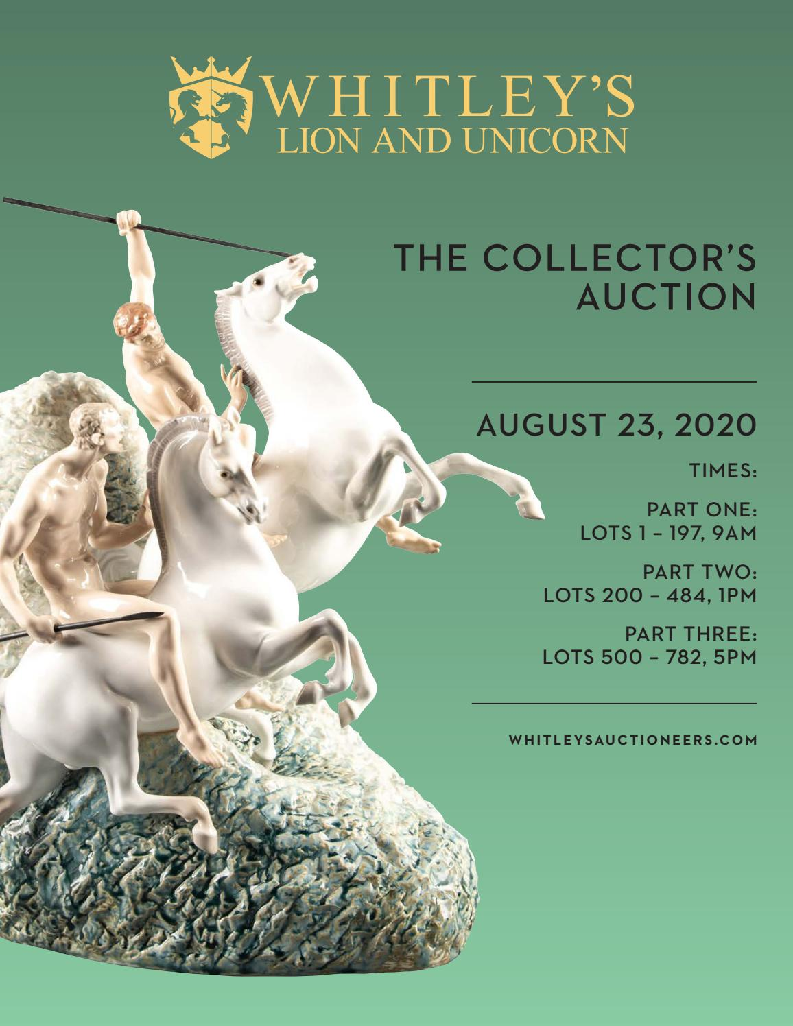 August Collectors Auction By Lion And Unicorn Issuu