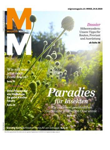 Migros Magazin 35 2020 D Zh By Migros Genossenschafts Bund Issuu