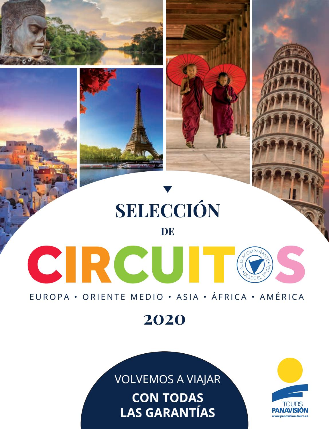 Selección de Circuitos 2020 by Panavision Tours - issuu