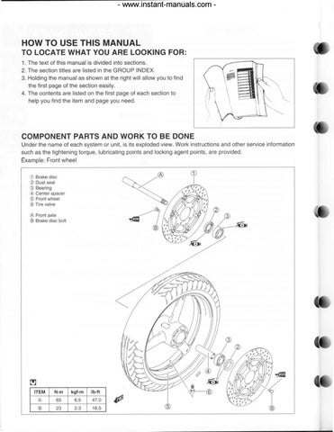 Suzuki Sv650 2003 2004 Service Repair Manual Parts Improved Pdf Download By Heydownloads Issuu