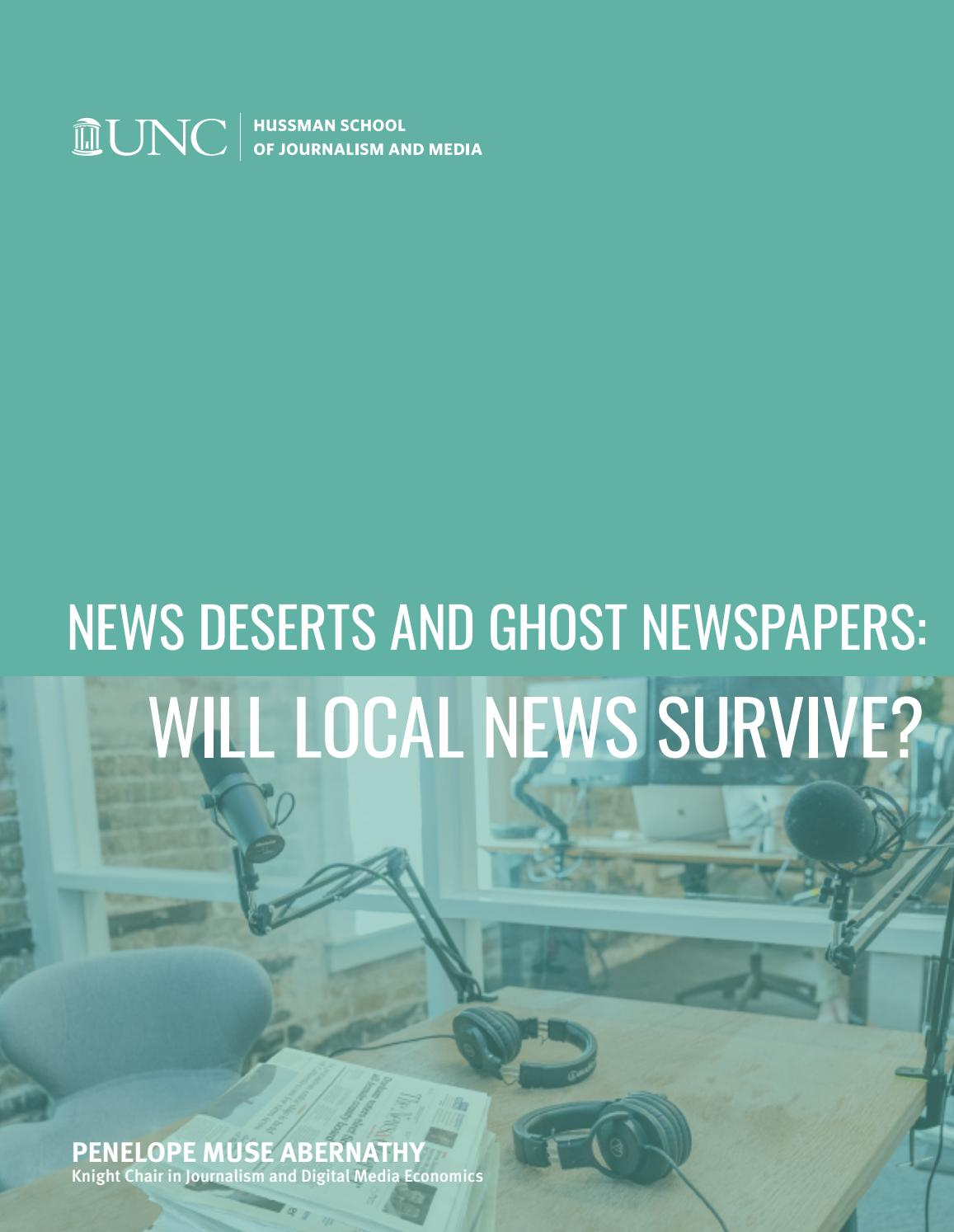 New deserts and ghost newspapers: Will local news Survive? by Sala de  Prensa - issuu