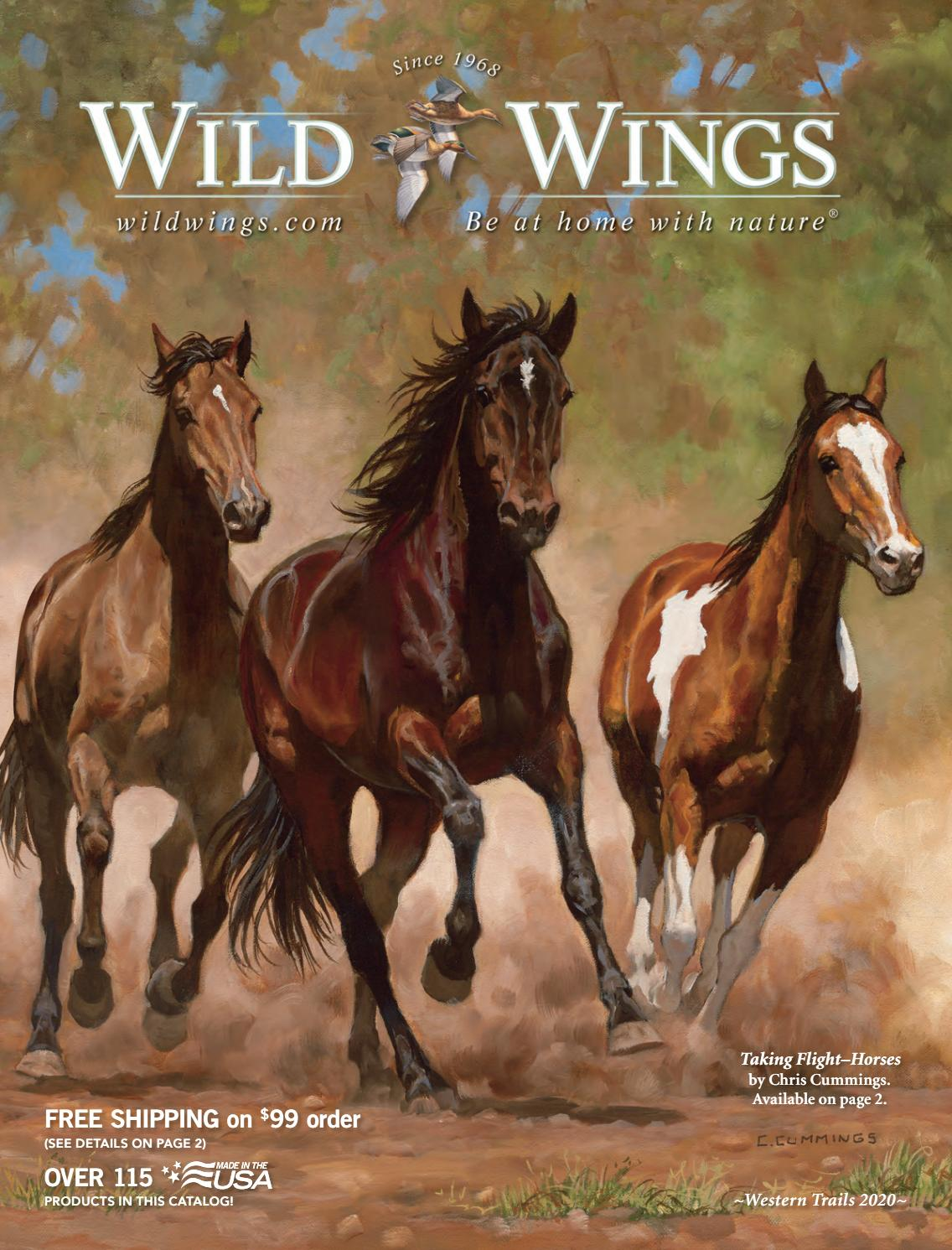 Wild Wings Western Trails 2020 Catalog By Wild Wings Issuu