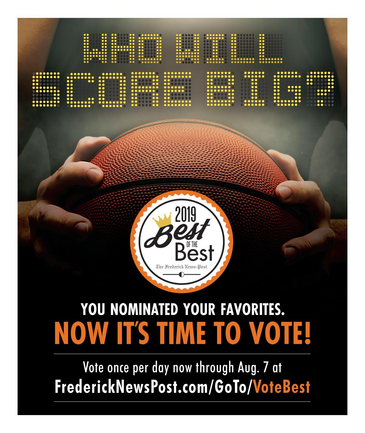 Best of the Best, First Round Voting 2019 by Frederick News Post