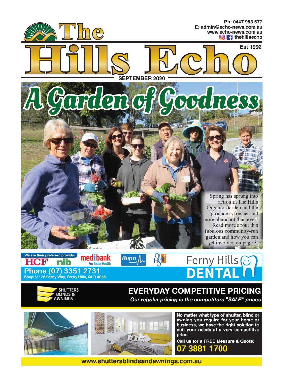 The Hills Echo Community Newspaper - September 2020 by MAC Group  Publications Pty Ltd - issuu