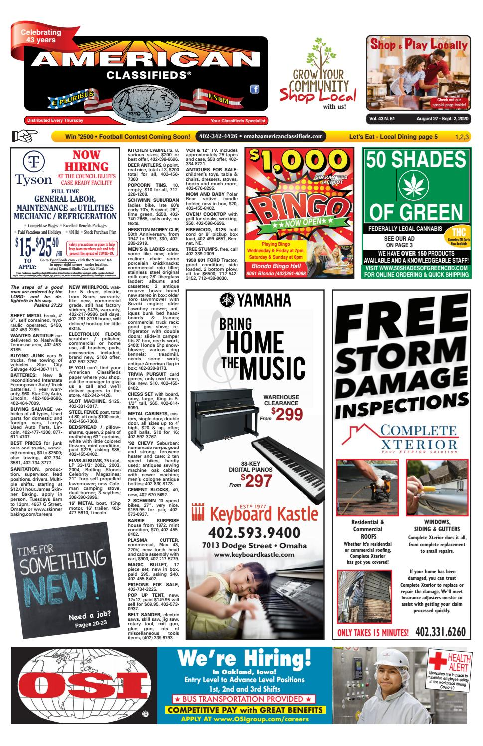 American Classifieds Of Omaha Lincoln Surrounding Areas By American Classifieds Omaha Issuu