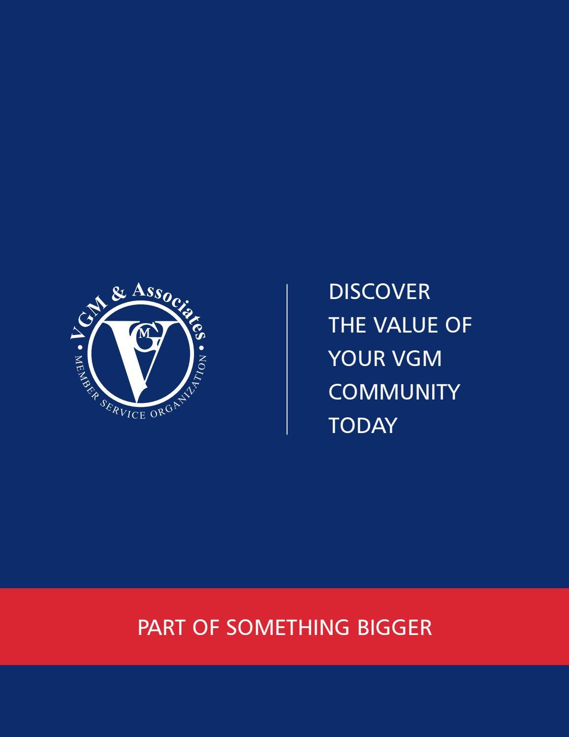 VGM & Associates Sales Folder by vgmassociates - issuu