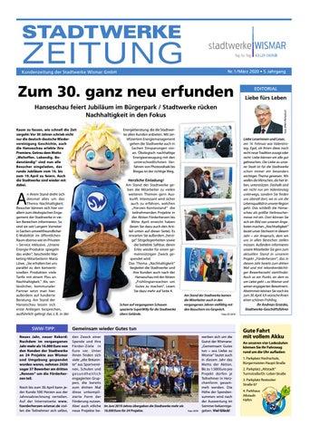 stadtwerke WISMAR Kundenzeitung