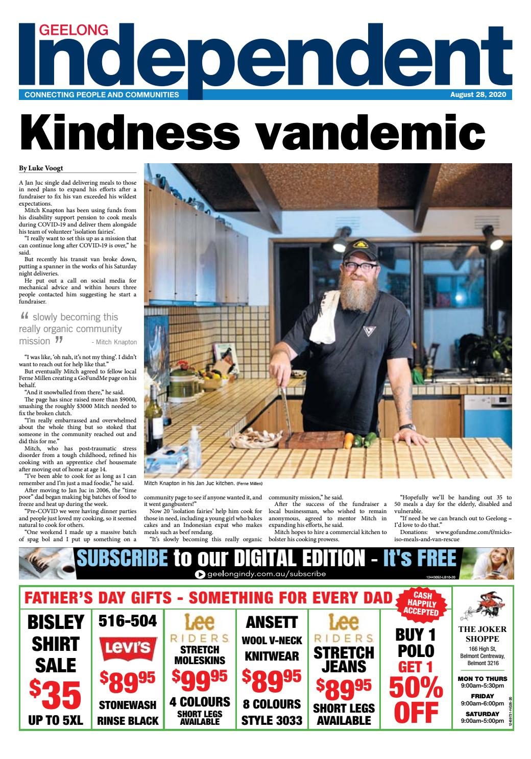 Geelong Indy 28th August 2020 By Star News Group Issuu