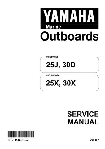 Download Yamaha Outboard 30hp 30 Hp Service Manual 1996 2005 Pdf Download By Heydownloads Issuu