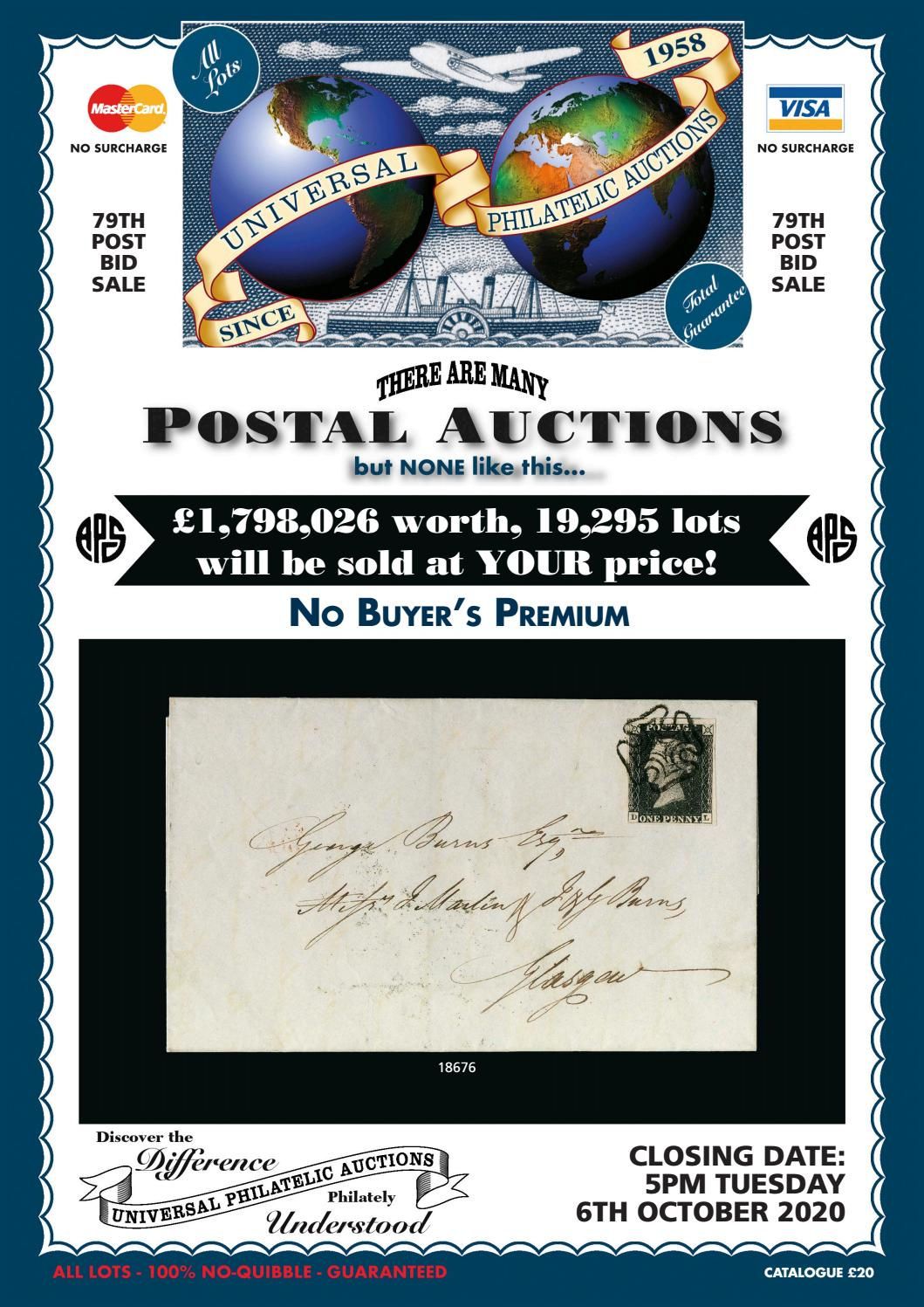 Universal Philatelic Auctions by Park Communications - issuu