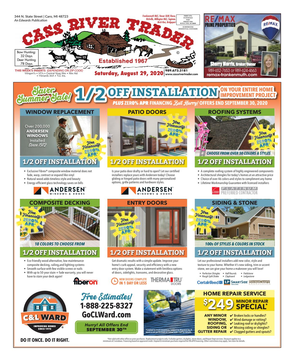 Crt 8 29 20 All Pages By Tuscola County Advertiser Issuu