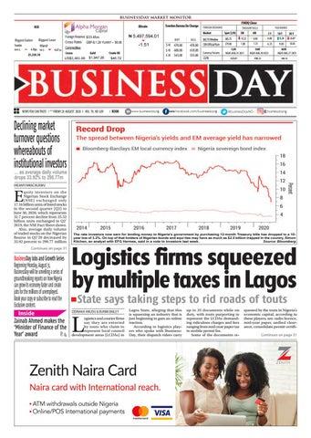 BusinessDay 28 Aug 2020 by BusinessDay - issuu