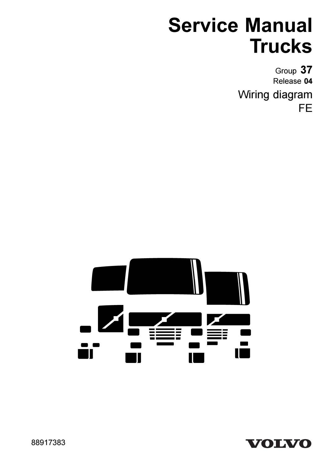 Volvo Fe Truck Wiring Diagram Service Manual Download June 40 by ...