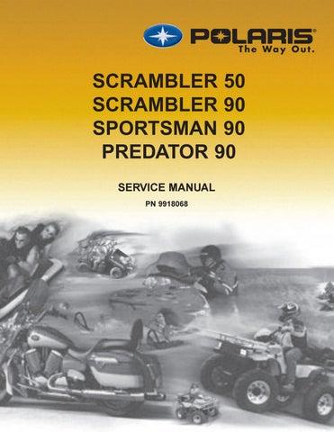 2003 polaris atv scrambler 50 predator 90 scrambler 90