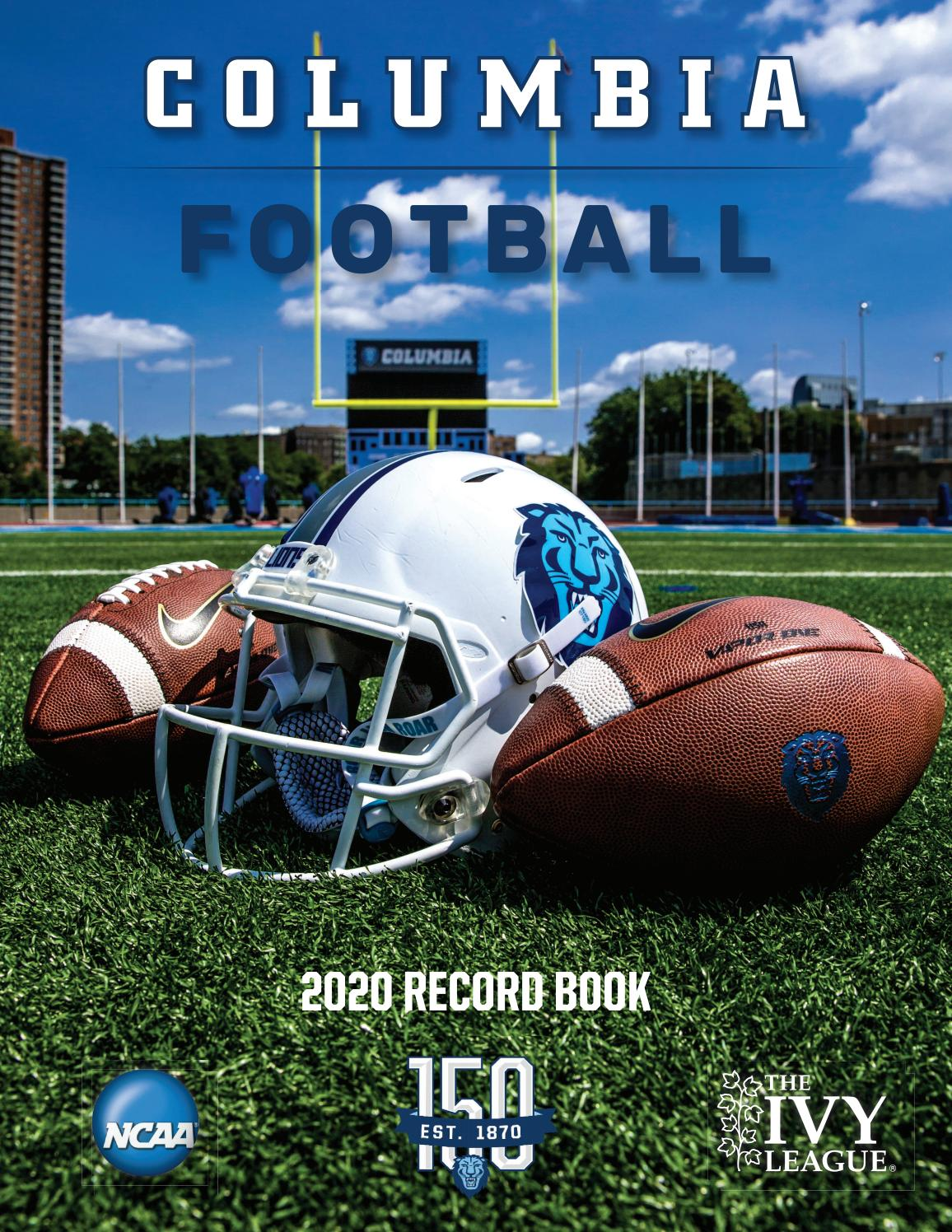 2020 Columbia Football Record Book By Columbia University Issuu See more of elliot choy on facebook. 2020 columbia football record book by