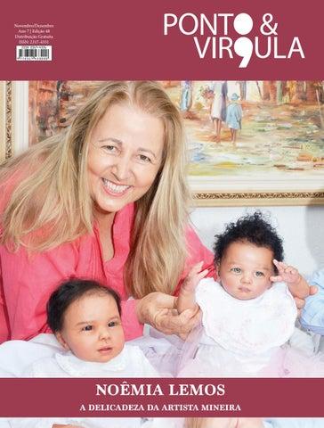 """Cover of """"Revista Ponto & Vírgula - Ano 7 - Edição 48 - Novembro/Dezembro 2019"""""""