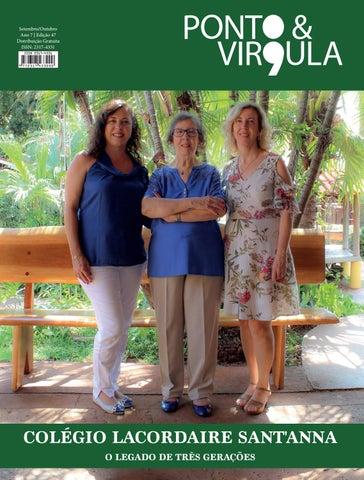 """Cover of """"Revista Ponto & Vírgula - Ano 7 - Edição 47 - Setembro/Outubro 2019"""""""