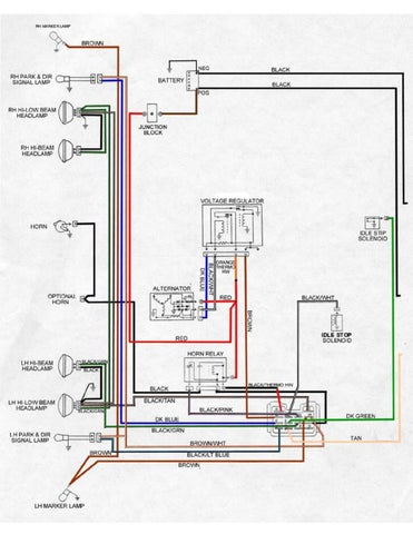 pontiac firebird wiring diagrams 67 68 69 models