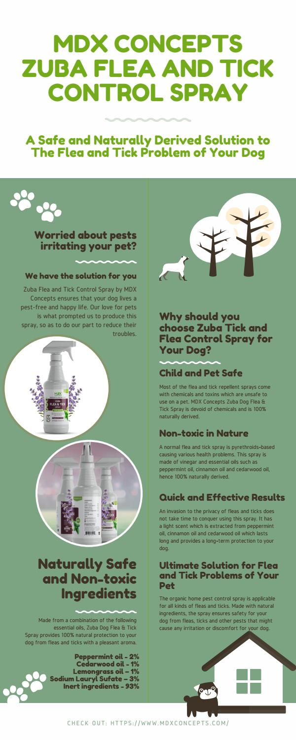 Mdx Concepts The Best Flea And Tick Spray For Dogs By Mdxconcepts0008 Issuu